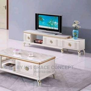 Console Tv Stand With Center Table | Furniture for sale in Lagos State, Ojo