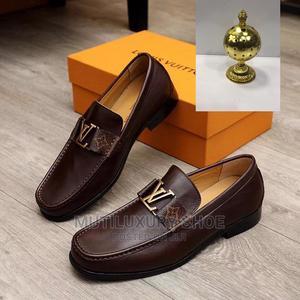 Original Ferragamo Shoe Italian Cow Leather | Shoes for sale in Lagos State, Lagos Island (Eko)