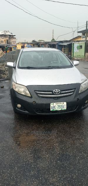 Toyota Corolla 2009 1.8 Advanced Silver   Cars for sale in Lagos State, Oshodi