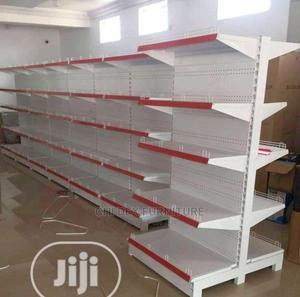 High Quality Strong Supermarket Shelves Double Sided | Store Equipment for sale in Lagos State, Ikeja