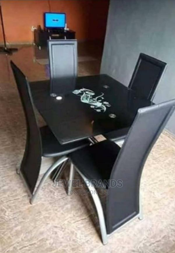 Archive: Dinning Table With 4 Chairs