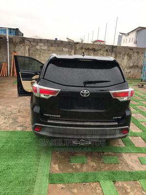 Toyota Highlander 2015 Black | Cars for sale in Lagos State, Isolo