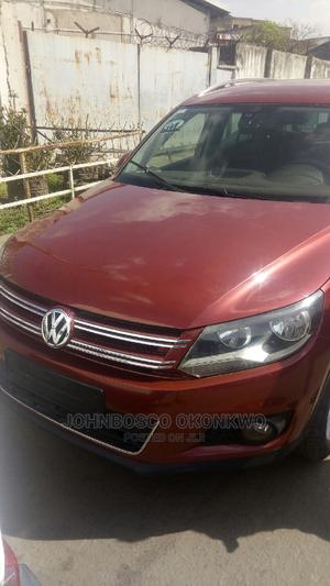 Volkswagen Tiguan 2013 S Red   Cars for sale in Lagos State, Amuwo-Odofin