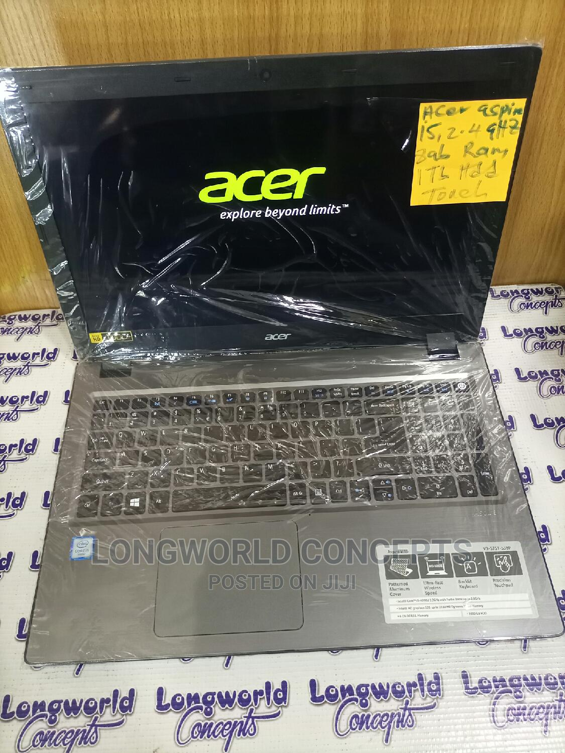 Laptop Acer Aspire V3-575t 8GB Intel Core I5 HDD 1T   Laptops & Computers for sale in Wuse, Abuja (FCT) State, Nigeria