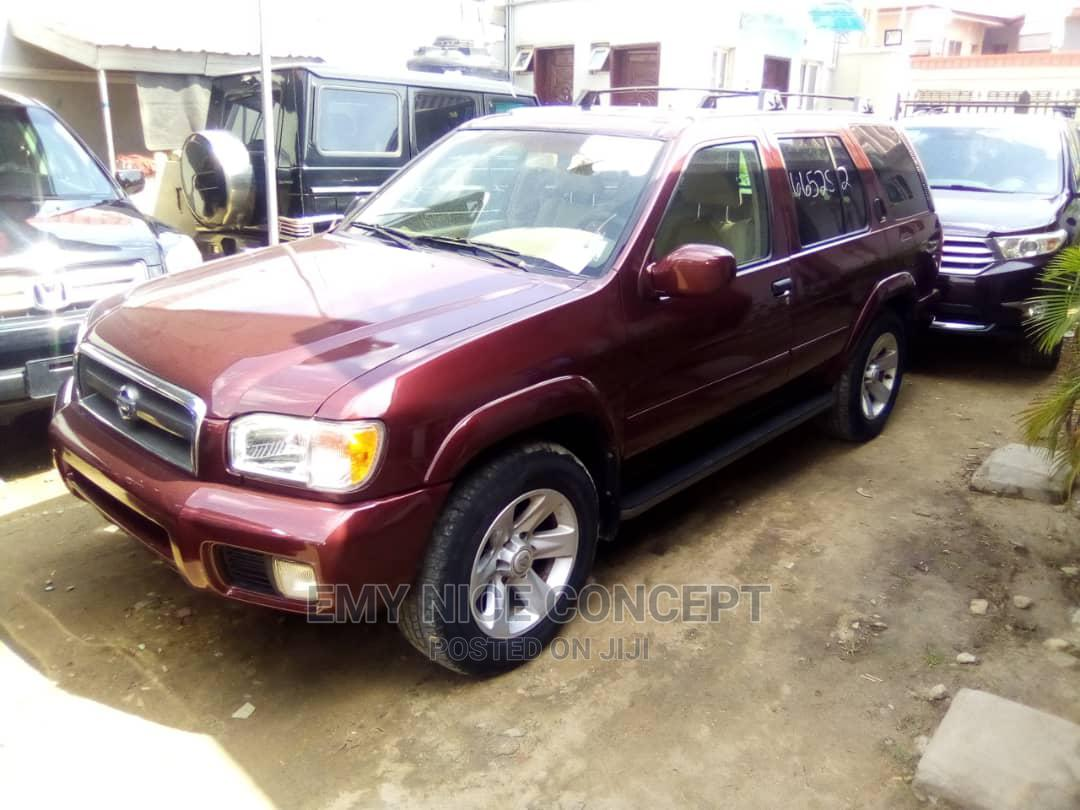 Nissan Pathfinder 2002 LE AWD SUV (3.5L 6cyl 4A) Brown | Cars for sale in Amuwo-Odofin, Lagos State, Nigeria