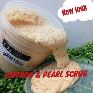 Saffron and Pearl Scrub | Skin Care for sale in Lagos State, Surulere