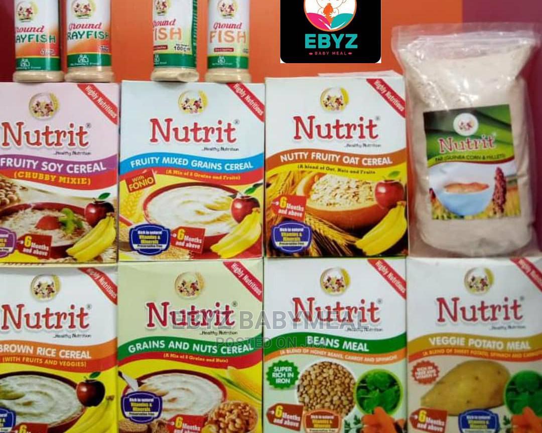 Nutrit Natural Baby/Toddler Foods