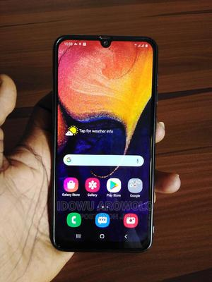 Samsung Galaxy A50 128 GB Blue | Mobile Phones for sale in Lagos State, Ikorodu