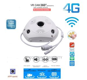 4G VR Cam Panoramic Wifi IP Camera | Security & Surveillance for sale in Lagos State, Ikeja
