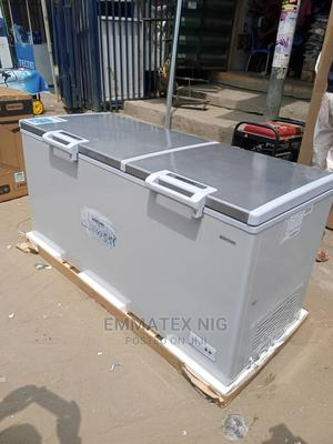 Brumh Double Doors Chest Freezer 500 Litres   Kitchen Appliances for sale in Lagos State, Ikeja