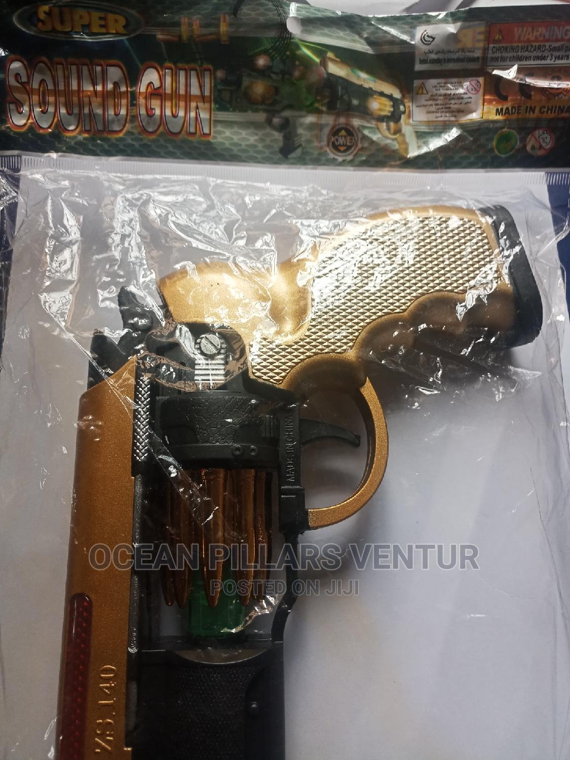Super Sound Revolving Toy Gun With Light   Toys for sale in Nyanya, Abuja (FCT) State, Nigeria