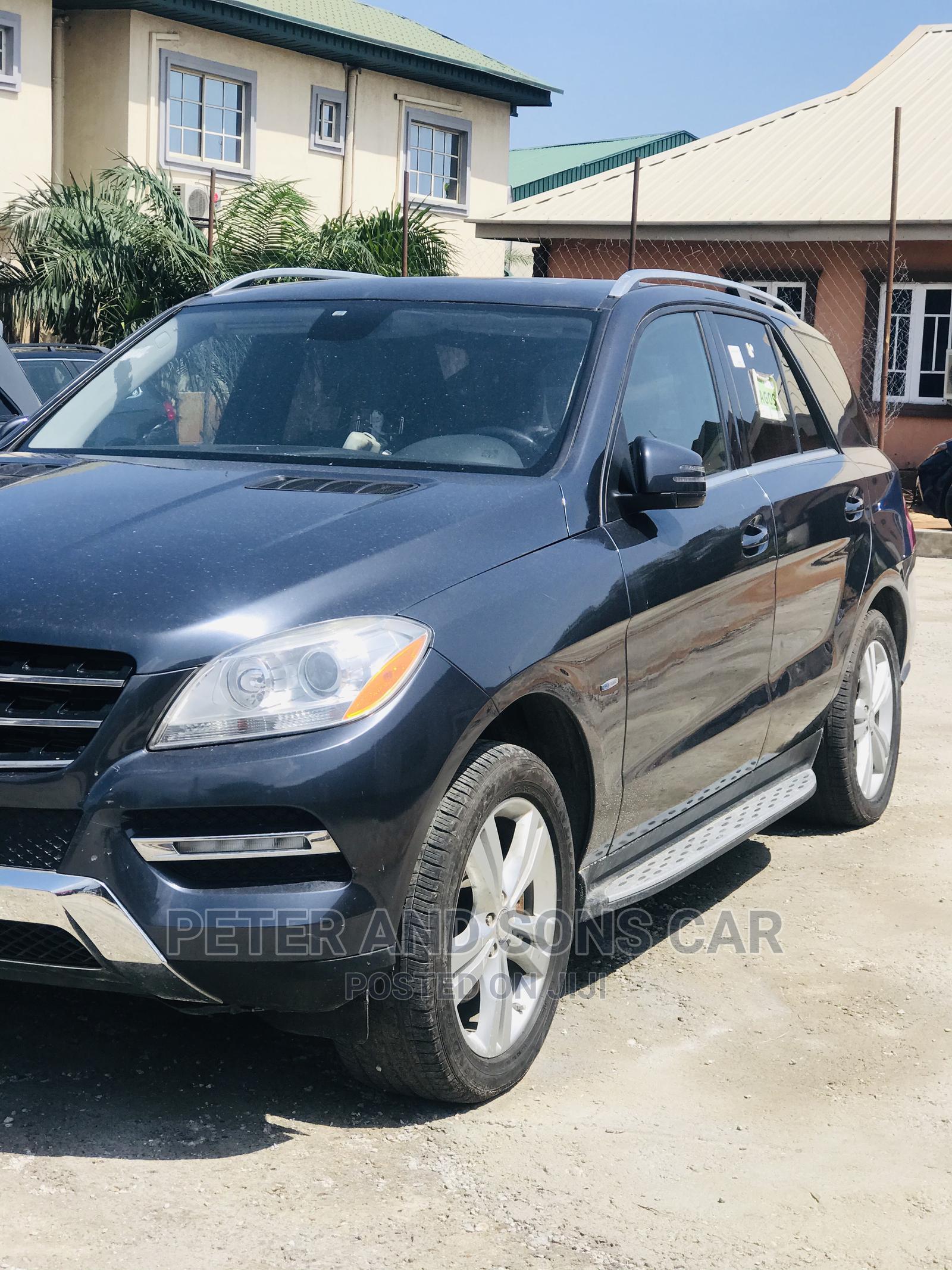 Mercedes-Benz M Class 2012 Gray | Cars for sale in Amuwo-Odofin, Lagos State, Nigeria