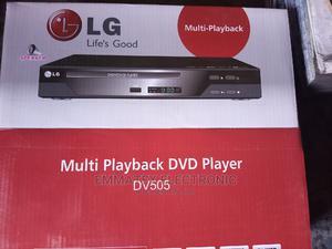 LG DVD Player 505 USB And Inbuild Speaker   TV & DVD Equipment for sale in Lagos State, Lekki