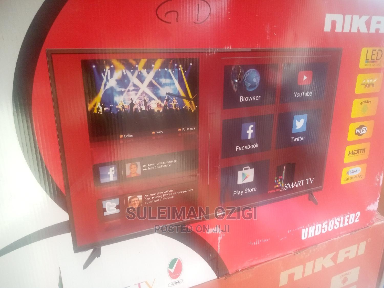 Nikai Smart Tv 4k Hdmi 50 Inches