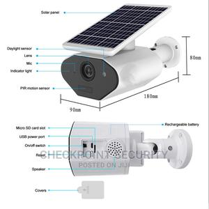 1080P Solar Wifi Outdoor Security IP Camera | Security & Surveillance for sale in Lagos State, Ikeja