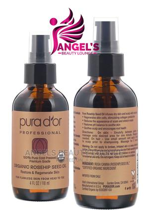 Pura d'Or Professional Organic Rosehip Seed Oil 118ml   Skin Care for sale in Lagos State, Ojo