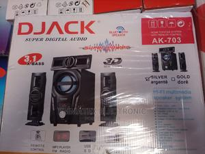 Djack Home Theater With Bluetooth Speaker Ak-703 | Audio & Music Equipment for sale in Lagos State, Ogba