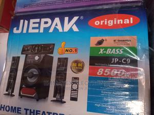 JIEPAK Original Home Theater With Bluetooth Speaker | Audio & Music Equipment for sale in Lagos State, Amuwo-Odofin