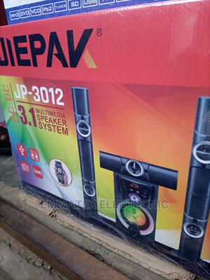 Original JIEPAK HOME THEATER SOUND With Bluetooth Speaker | Audio & Music Equipment for sale in Lagos State, Surulere