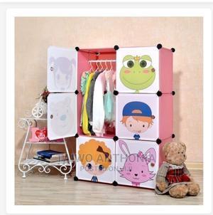 6 Door Baby Storage Cabinet Wardrobe | Children's Furniture for sale in Lagos State, Victoria Island