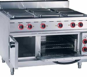 Electric Cooker With Oven 6 Burners | Restaurant & Catering Equipment for sale in Lagos State, Ojo