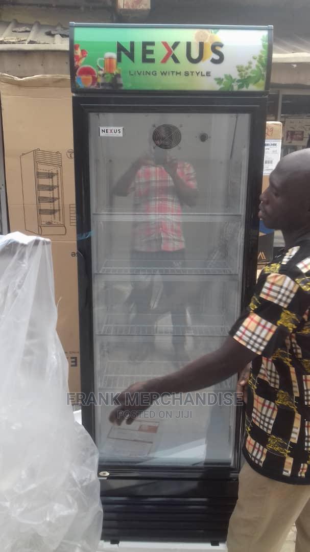 NEXUS Showcase Glass Standing Refrigerator 100%Copper NX401