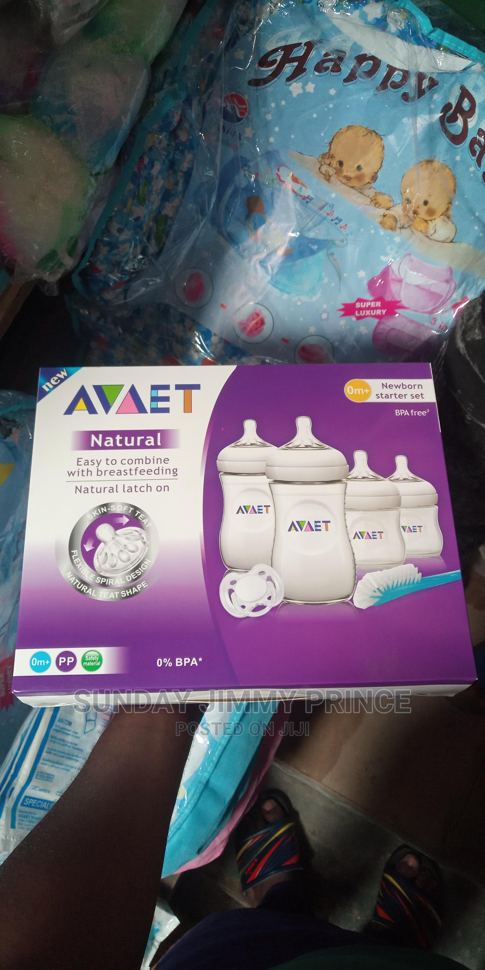 New Born Feeding Bottle Set With Pacifer | Baby & Child Care for sale in Ikoyi, Lagos State, Nigeria