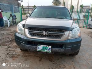 Honda Pilot 2005 EX 4x4 (3.5L 6cyl 5A) Gold | Cars for sale in Lagos State, Alimosho