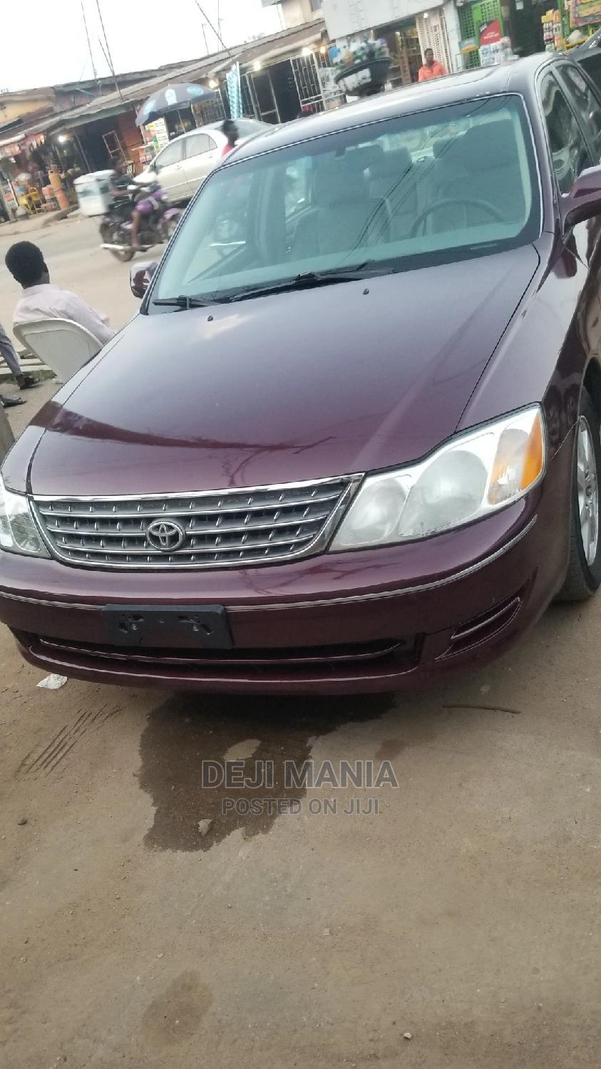 Archive: Toyota Avalon 2004 XL Red