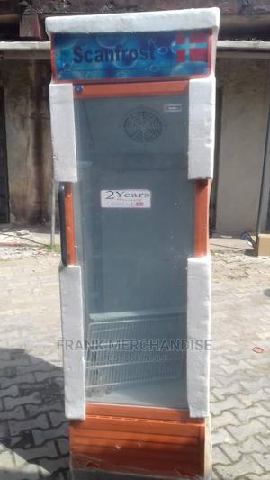 Scanfrost Showcases Glass Standing Refrigerator 100%Copper | Store Equipment for sale in Lagos State, Amuwo-Odofin