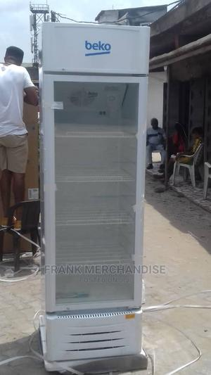 BEKO Showcases Glass Standing Refrigerator 100%Copper   Store Equipment for sale in Lagos State, Amuwo-Odofin