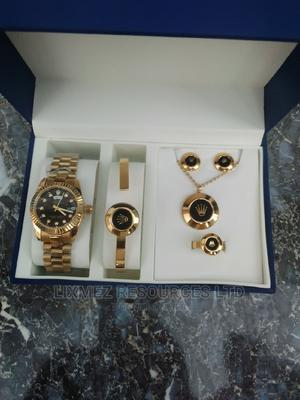 Rolex Set Black Face Wrist Watch   Watches for sale in Lagos State, Amuwo-Odofin