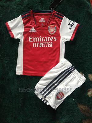 Arsenal 2021/2022 Home Jersey for Children   Children's Clothing for sale in Lagos State, Lagos Island (Eko)