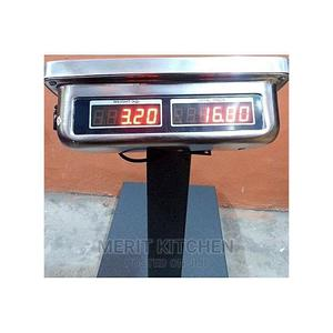 Camry Digital Scale Platform Double Display 100kg | Store Equipment for sale in Lagos State, Ojo