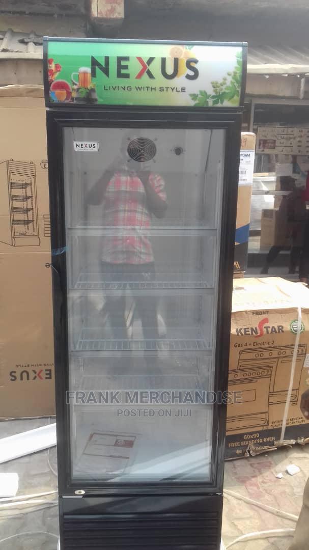 NEXUS Showcases Glass Standing Refrigerator 100%Copper