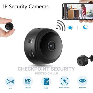 Mini A9 HD Battery Backup Wireless IP Camera | Security & Surveillance for sale in Lagos State, Ikeja