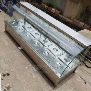 12 Plates Curve Glass Food Warmer | Restaurant & Catering Equipment for sale in Lagos State, Ojo