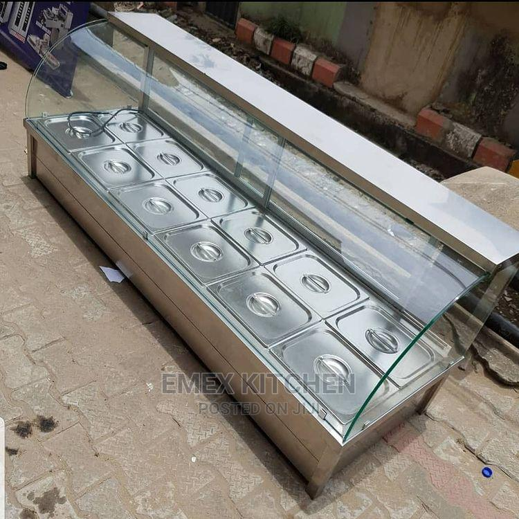 Archive: 12 Plates Curve Glass Food Warmer