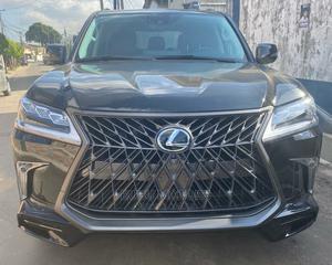 Lexus LX 2018 570 Three-Row Black | Cars for sale in Lagos State, Ikeja