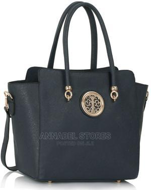 Wholesale B2B Navy Polished Metal Shoulder Handbag - AS127 | Bags for sale in Lagos State, Amuwo-Odofin