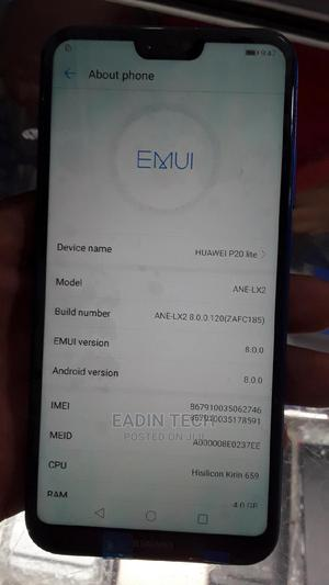 Huawei P20 128 GB Blue   Mobile Phones for sale in Lagos State, Ikeja