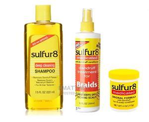 Sulfur 8 Dandruff Treatment (COMBO   Hair Beauty for sale in Lagos State, Mushin