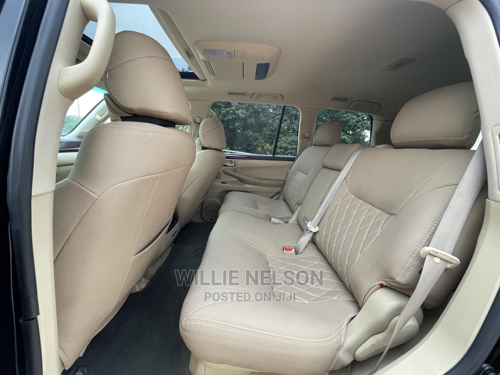 Lexus LX 2012 570 Black | Cars for sale in Jahi, Abuja (FCT) State, Nigeria