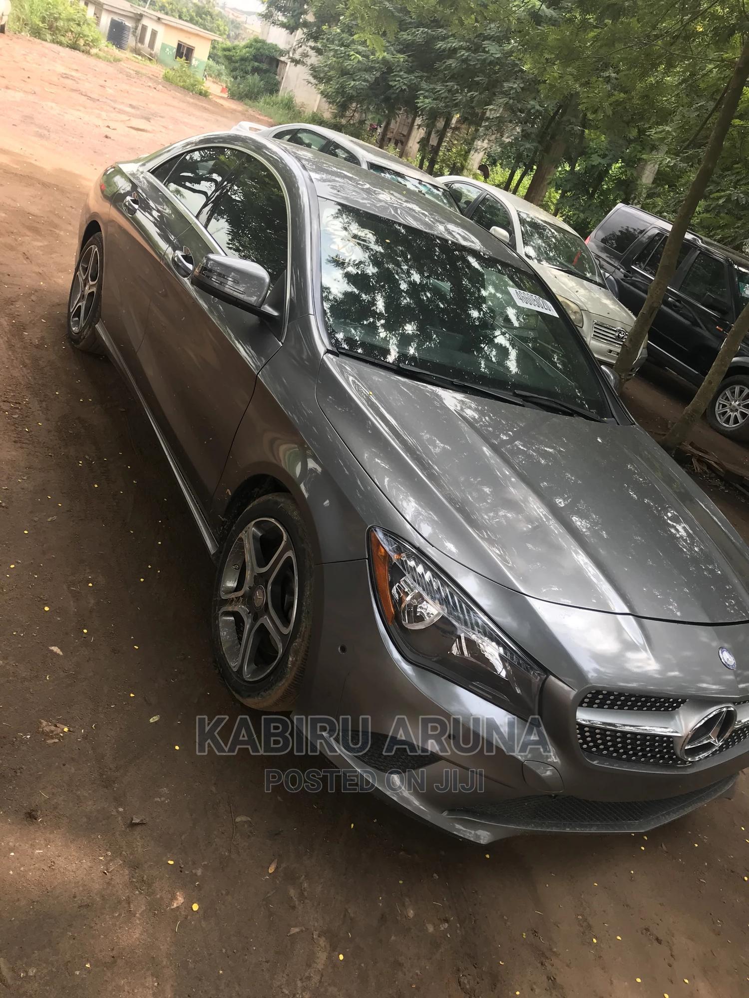 Mercedes-Benz CLA-Class 2014 Gray | Cars for sale in Sagamu, Ogun State, Nigeria