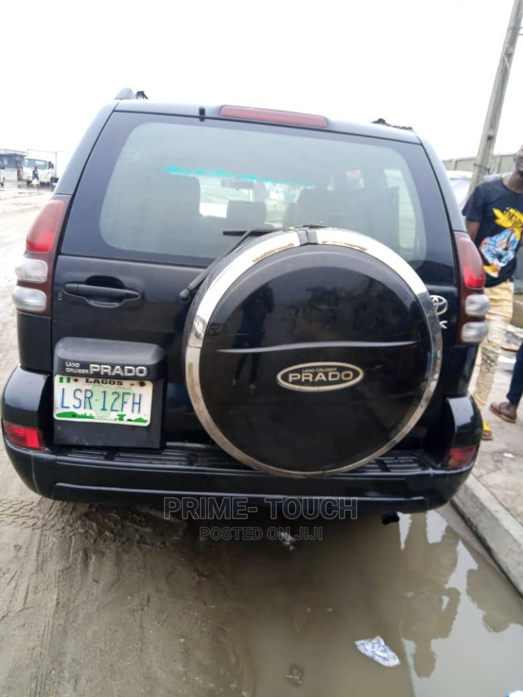 Toyota Land Cruiser Prado 2007 Black   Cars for sale in Surulere, Lagos State, Nigeria