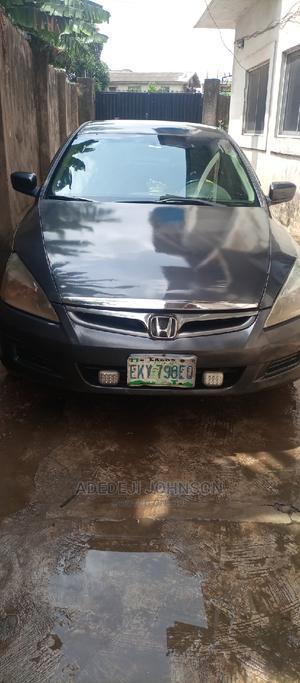 Honda Accord 2007 Sedan EX Gray   Cars for sale in Lagos State, Alimosho