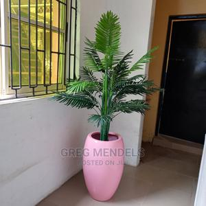 Excellent Palm Plant With Pink Fibre Glass   Garden for sale in Lagos State, Ikeja