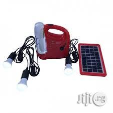 Archive: Solar/Electric Rechargeable Lamp