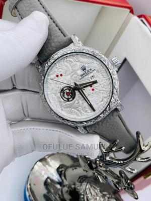 Original Japanese Leather Rolex Wristwatch | Watches for sale in Lagos State, Surulere