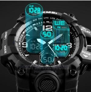 Sport Digital Chronograph Dual Display Alarm Watch | Watches for sale in Lagos State, Ifako-Ijaiye
